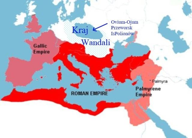 olbrzymi kraj Wandali 271 rok